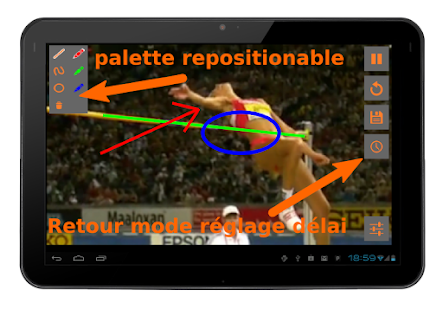 Video coach miroir diff r applications android sur for Application miroir android