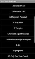 Screenshot of LDS Missionary's KJV Reference