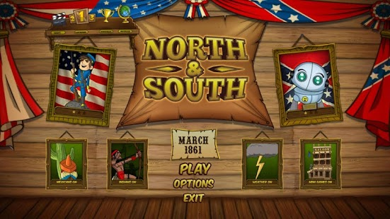 NORTH SOUTH - The Game