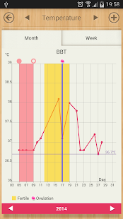 Period Calendar / Tracker - screenshot thumbnail