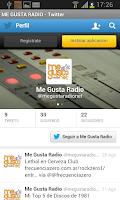 Screenshot of Megustaradio.net
