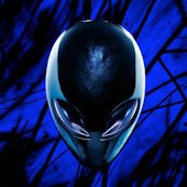 3D Ufo Dark Live Wallpaper