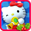Hello Kitty Christmas icon
