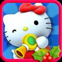 Hello Kitty Christmas icon