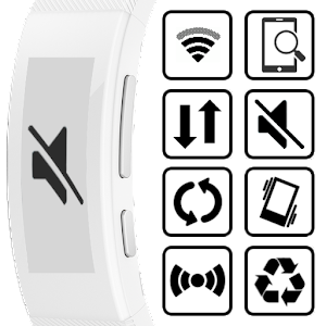 Toggles for SmartBand Talk Icon