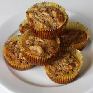 Apple and Banana Gluten-Free Oat Muffins.