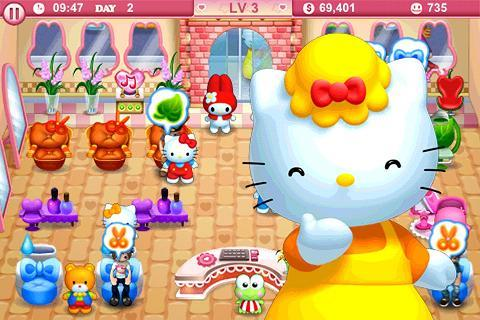 Hello Kitty Beauty Salon! - screenshot