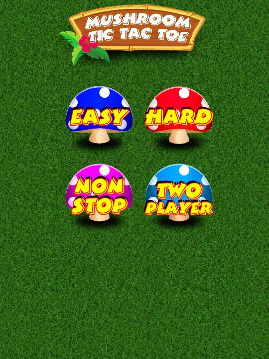 Mushroom Tic Tac Toe - screenshot