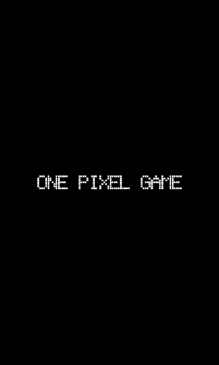 One Pixel Game