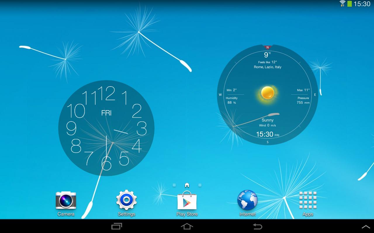 Widget dari Poles Layar Anda - screenshot