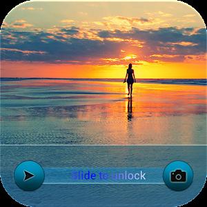 海綠色的iPhone鎖屏 娛樂 App LOGO-APP試玩