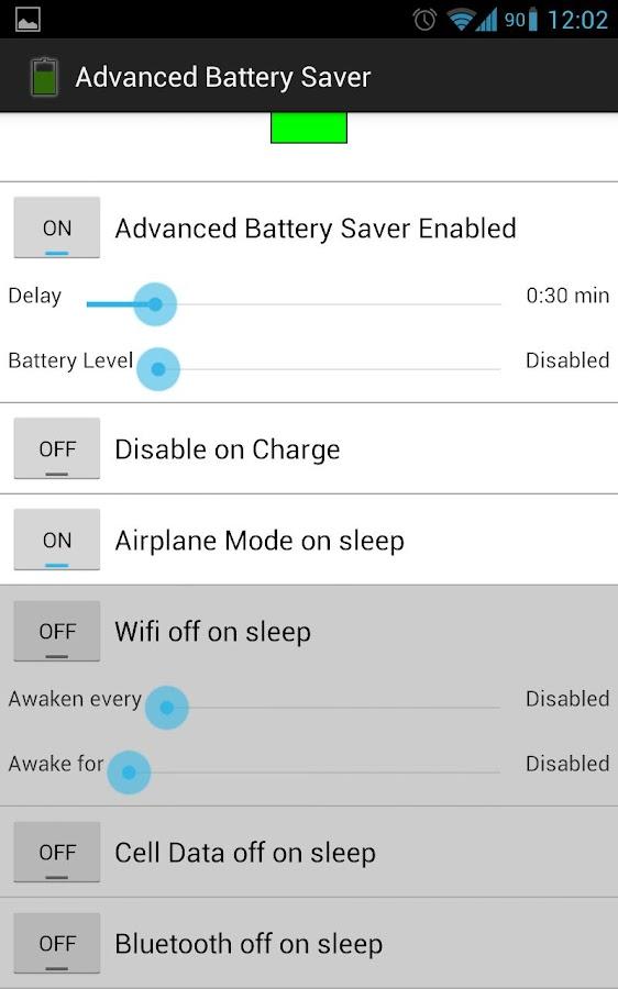 Advanced Battery Saver - screenshot