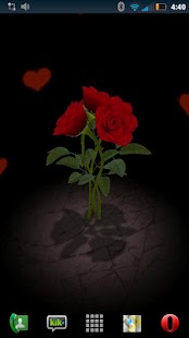 3D Rose Bouquet LWP Free - screenshot thumbnail