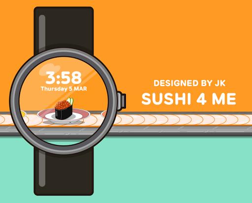 Sushi 4 Me watchface by JK
