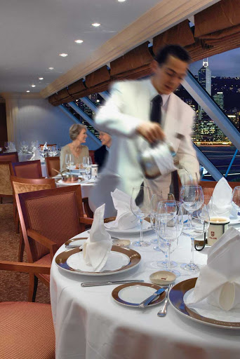 Oceania-Toscana-2-1 - Head to Toscana for traditional Italian dishes presented on custom-designed Versace china during your voyage on Oceania Insignia.