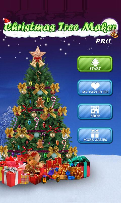 christmas tree maker screenshot - Christmas Tree Games