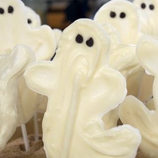 White Chocolate Ghosts Recipe
