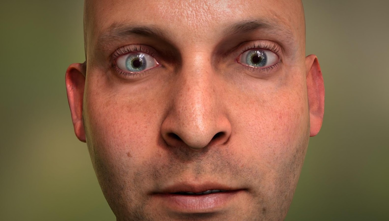 NVIDIA Tegra FaceWorks Demo- screenshot