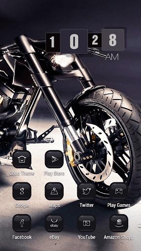 閃亮酷摩托車主題