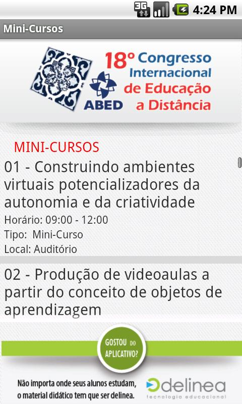 18 CIAED - screenshot