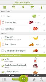 Grocery King Shop List Free Screenshot 2
