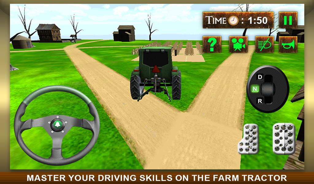 Игра Пахать Землю На Тракторе Ферма