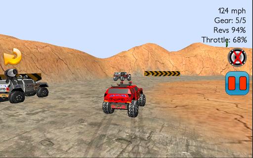 4×4汽车拉力赛赛车游戏