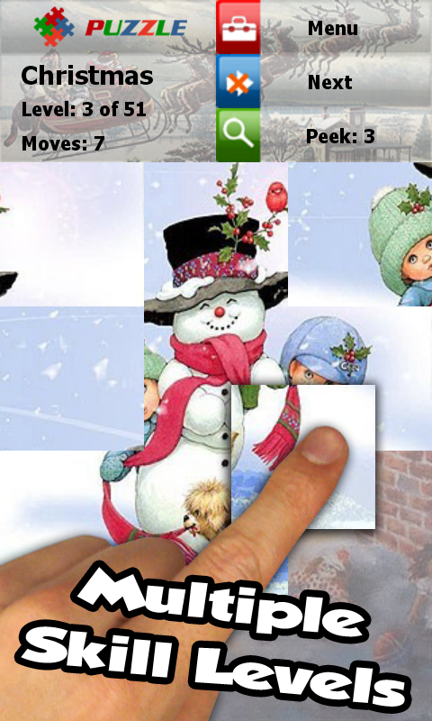 Christmas Puzzle Game: Jigsaw - screenshot