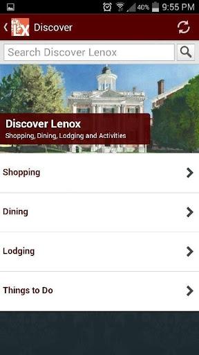 Lenox in the Berkshires
