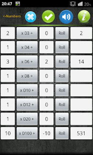 Numbers & Dice Random generate - screenshot thumbnail