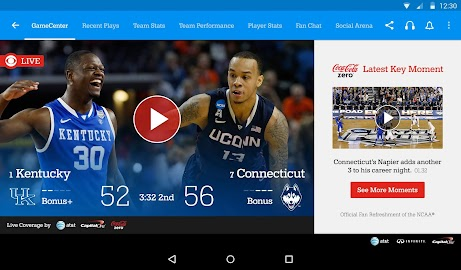 NCAA March Madness Live Screenshot 17
