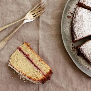 Buckwheat and Apple Cake (Schwarzplententorte)