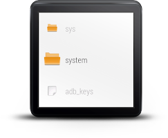 Screenshot of File Manager For Android Wear