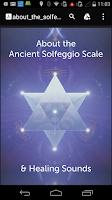 Screenshot of 417 Hz Solfeggio Meditation