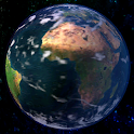 The Earth 3D icon