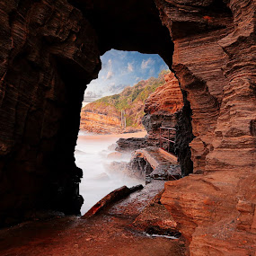 Where to? by Marc Anderson - Landscapes Caves & Formations (  )