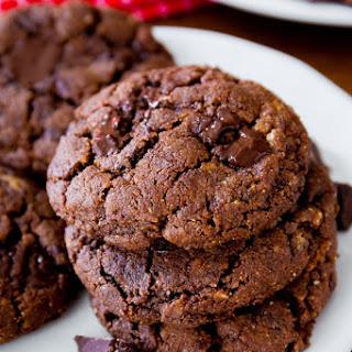 Dark Chocolate Almond Butter Cookies.
