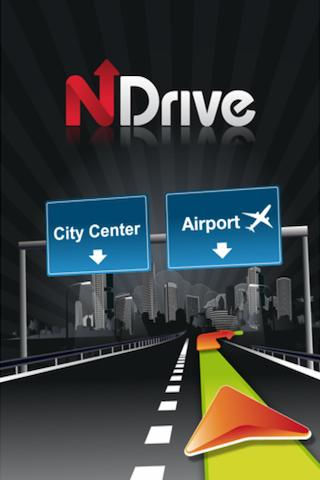 NDrive 10- screenshot