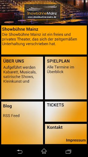 Showbühne Mainz