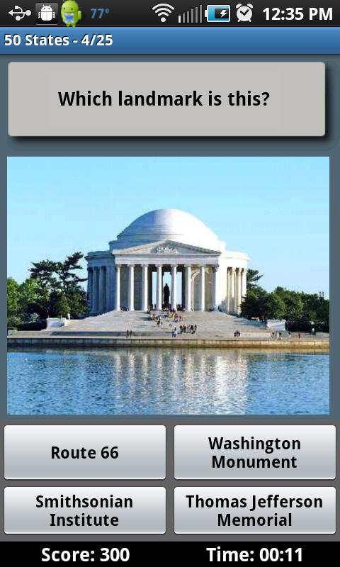 States Free Android Apps On Google Play - 50 states in famous landmarks