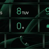 Dialer MetalGate Green theme