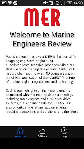 Marine Engineer Review