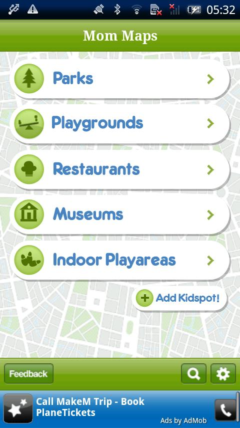 Mom Maps- screenshot