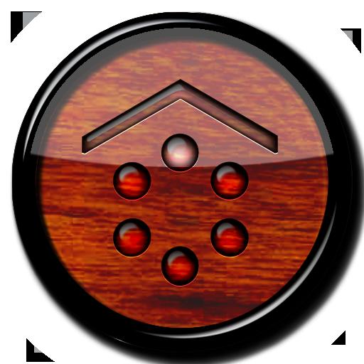 Smart Launcher theme Wood