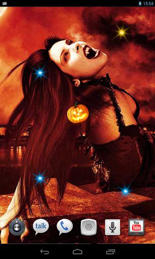 Halloween Vampires HD LWP