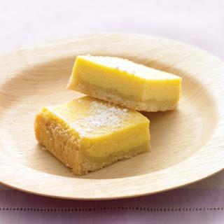 Creamy Lemon Squares.