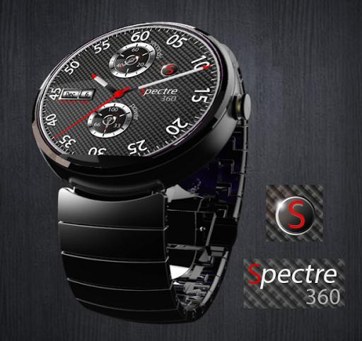 Spectre Watch Face for Wear