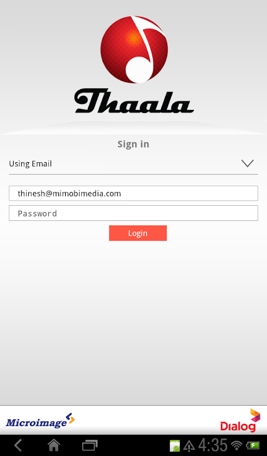 Thaala - screenshot