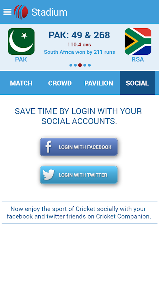 Live Cricket Scores & News- screenshot