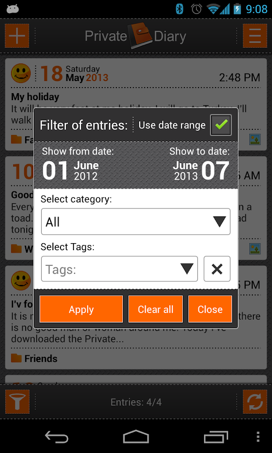 Private DIARY Free - screenshot